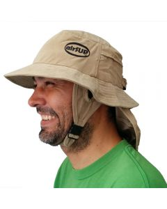 airSUP Bucket Hat for Stand Up Paddle Surf & Sun Protection Khaki Mens