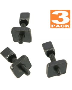 Air7 Fin screws for US Center Box Fin Screw suitable for hard and  inflatable SUP with US box, no tools, no rust (3 pack)